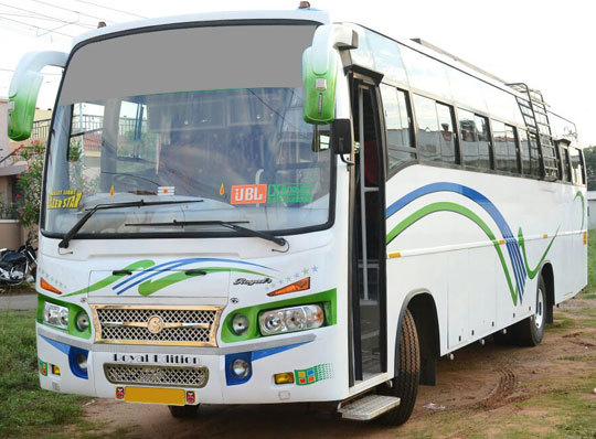 55 seater mini bus rental