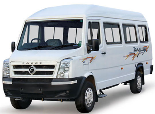 12 seater car rental